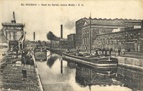 L 39 cole buffon d couvre l 39 architecture roubaix autrefois - Adresse de l usine de roubaix ...